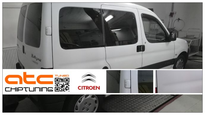 Citroen Berlingo 1.6HDI Chiptuning