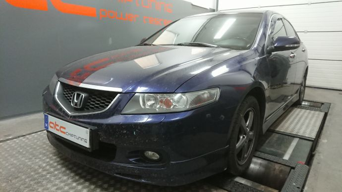 Honda Accord 2.4 Chiptuning Dyno Diagram
