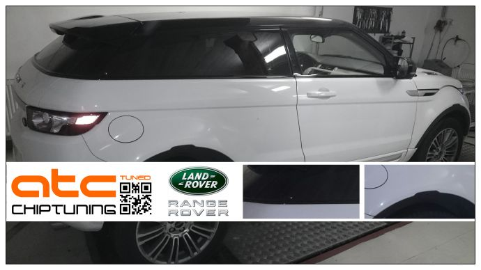 Land Rover Evoque Chiptuning Dyno