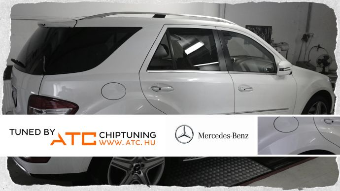 Mercedes-Benz ML 500 CHIPTUNING DYNO