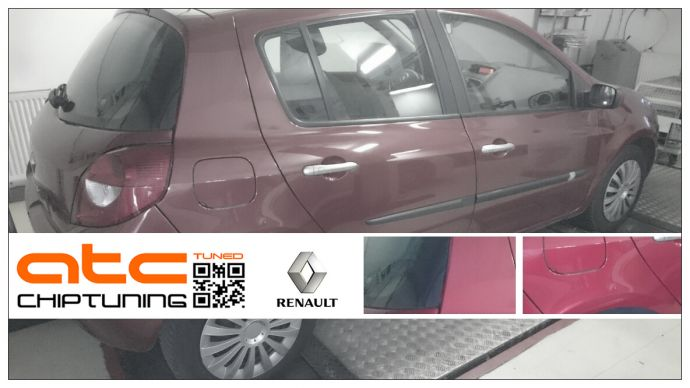 Renault Clio 1.2 TCE 100 Chiptuning on Dyno
