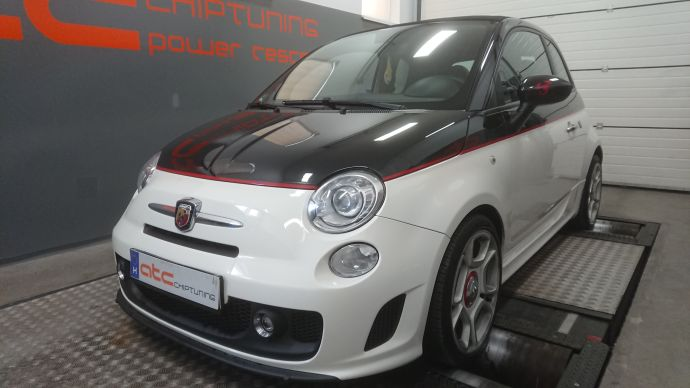Fiat Abart 500 1.4T Chiptuning on Dyno